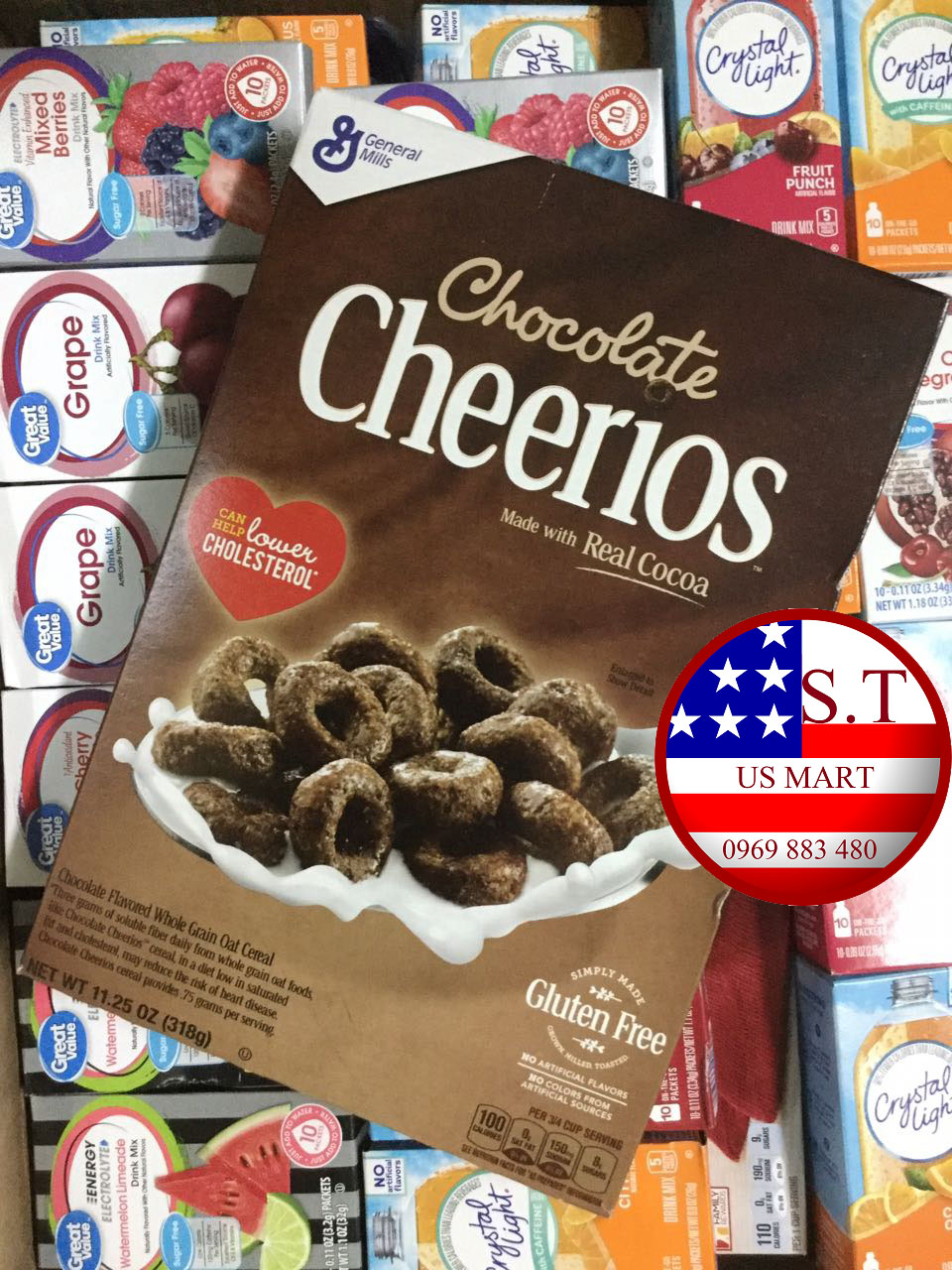 Ngũ cốc Cheerios Chocolate 318 gram