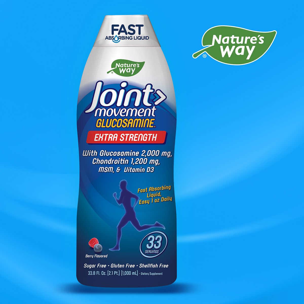 Siro Glucosamine Nature's Way Joint Movement Glucosamine, 1000ml