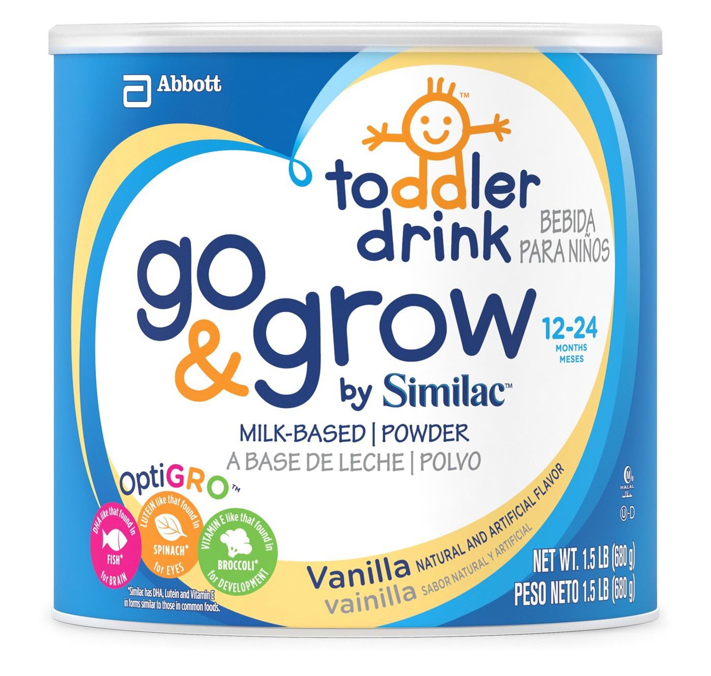 Sữa bột Similac Go & Grow của Mỹ 680g dành cho bé từ 12-24 tháng tuổi