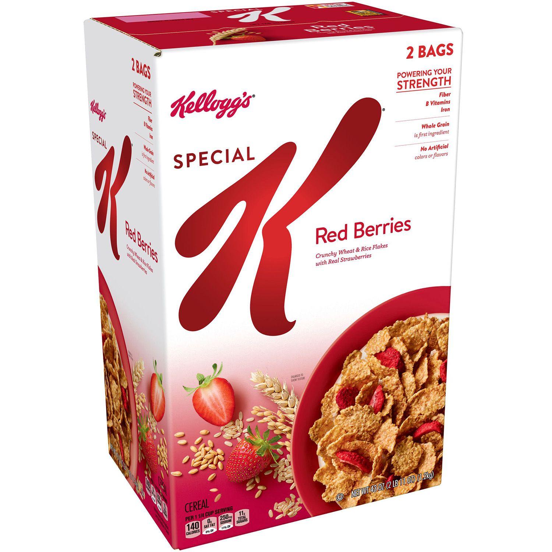 Ngũ cốc dinh dưỡng Kellogg's dâu tây hộp to 1,2 kg