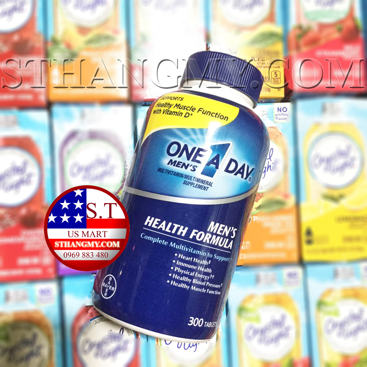 Multi-Vitamin cho Nam giới One A Day Men's 300 viên