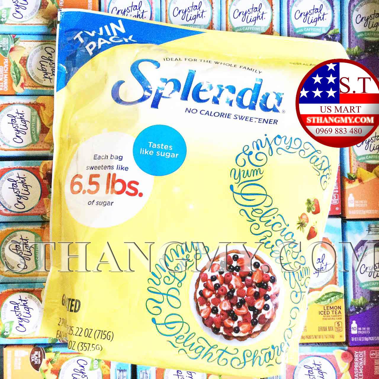 Đường ăn kiêng Splenda túi 357g