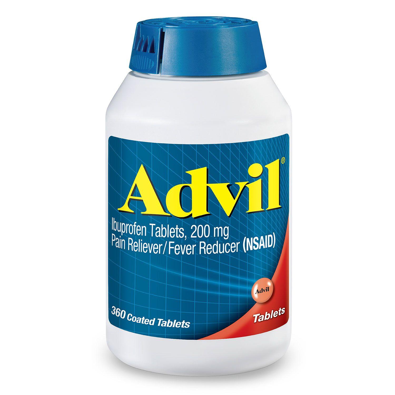 Thuốc giảm đau hạ sốt Advil hộp 360 viên của Mỹ - Giảm nhức đầu, các triệu chứng đau khác