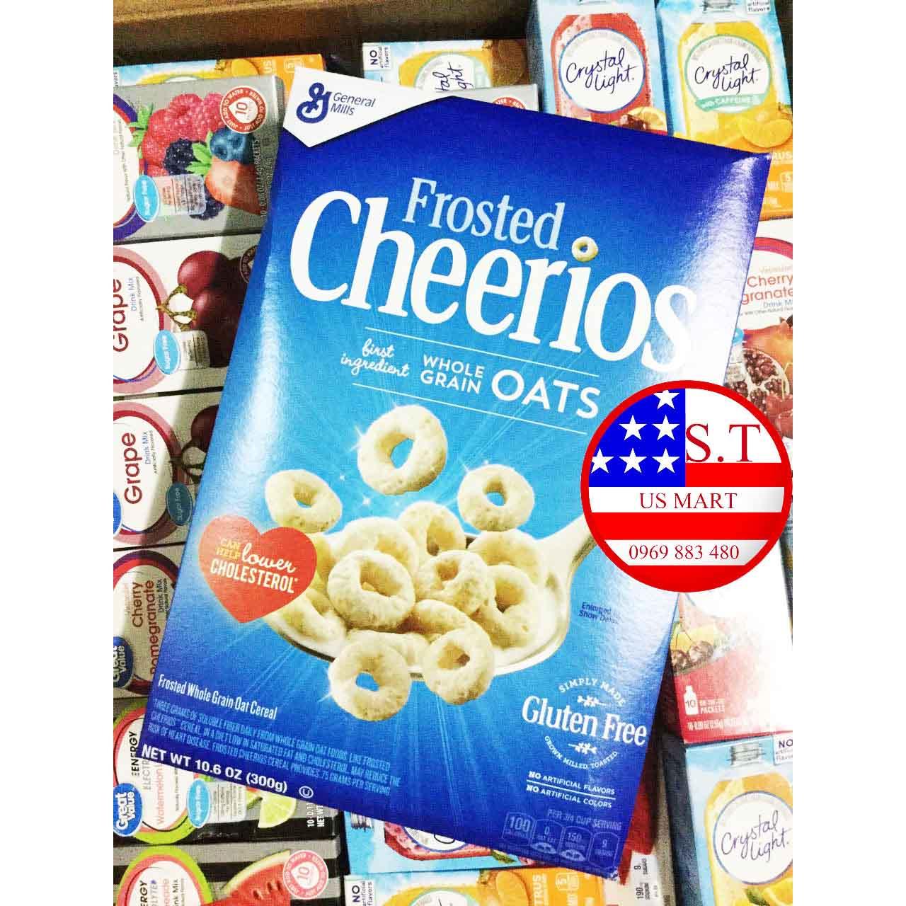 Ngũ cốc dinh dưỡng Cheerios Frosted 300 gram