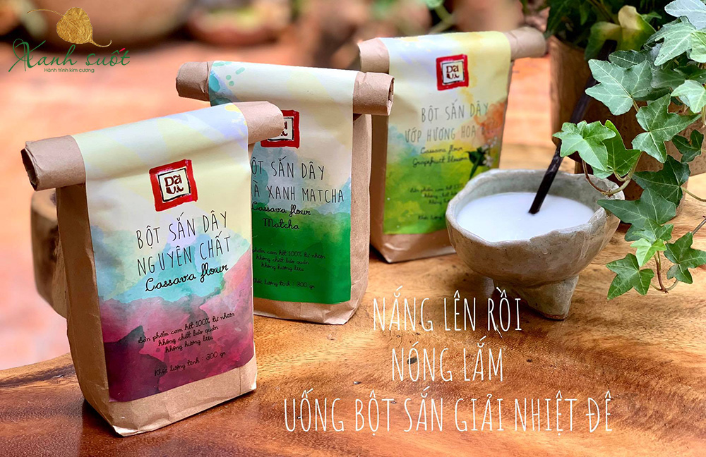 bột sắn dây kỳ anh