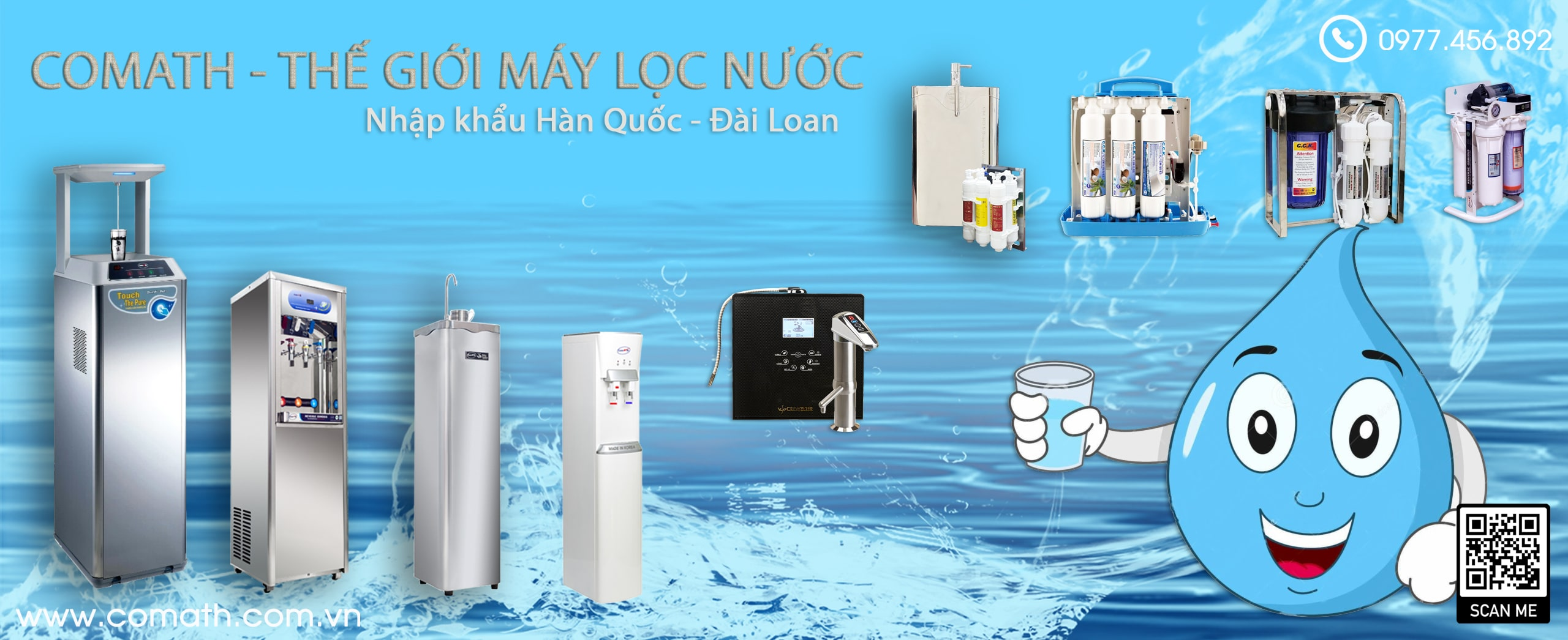 may loc nuoc banner