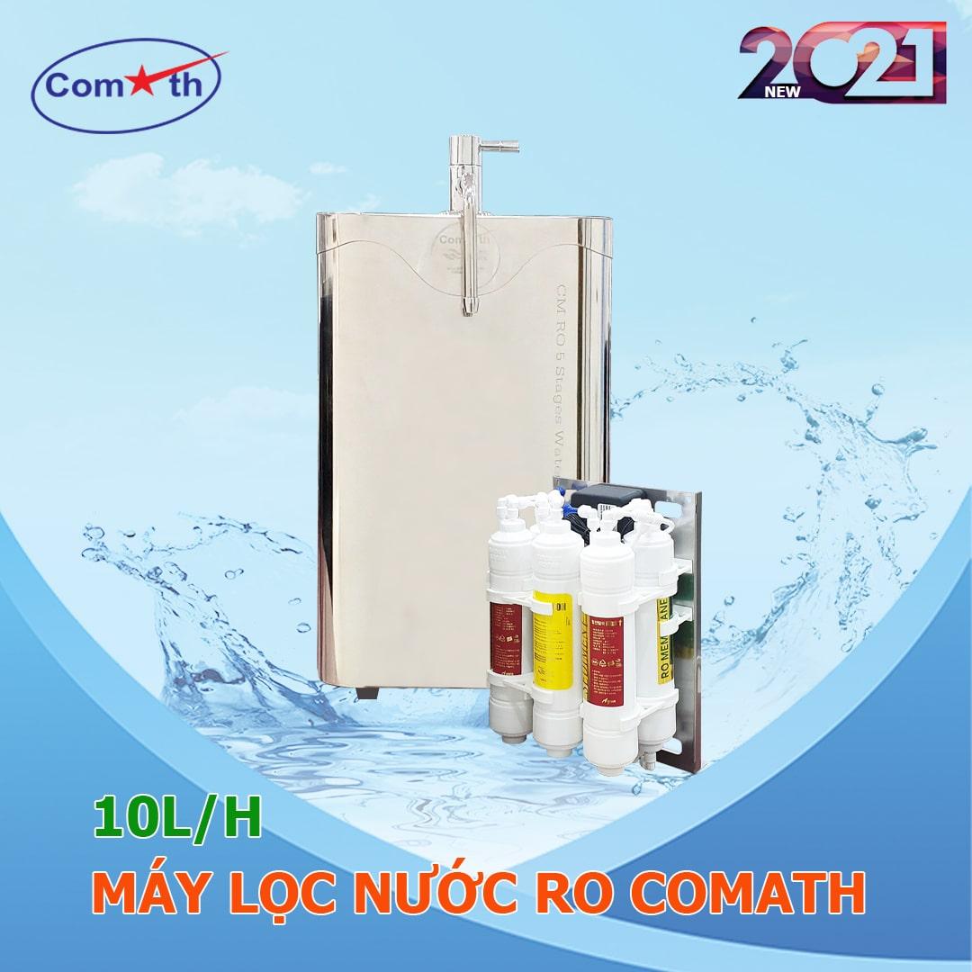 Máy lọc nước RO COMATH D25-50 model 2021 để bàn, gầm bếp