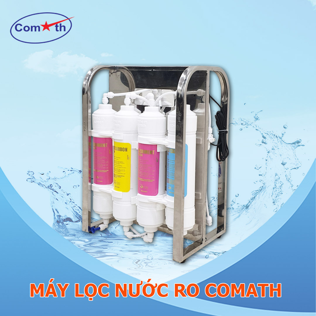 Máy lọc nước RO Comath CM2KR-6 lõi kín vô khuẩn Hàn Quốc