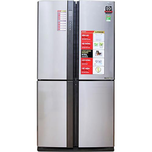 Tủ lạnh Sharp Inverter 556 lít SJ-FX630V-ST