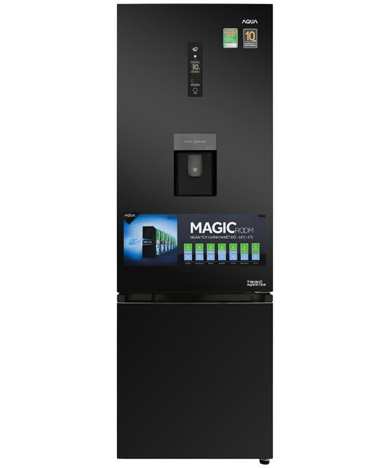 Tủ lạnh Aqua Inverter 320 lít AQR-IW378EB BS