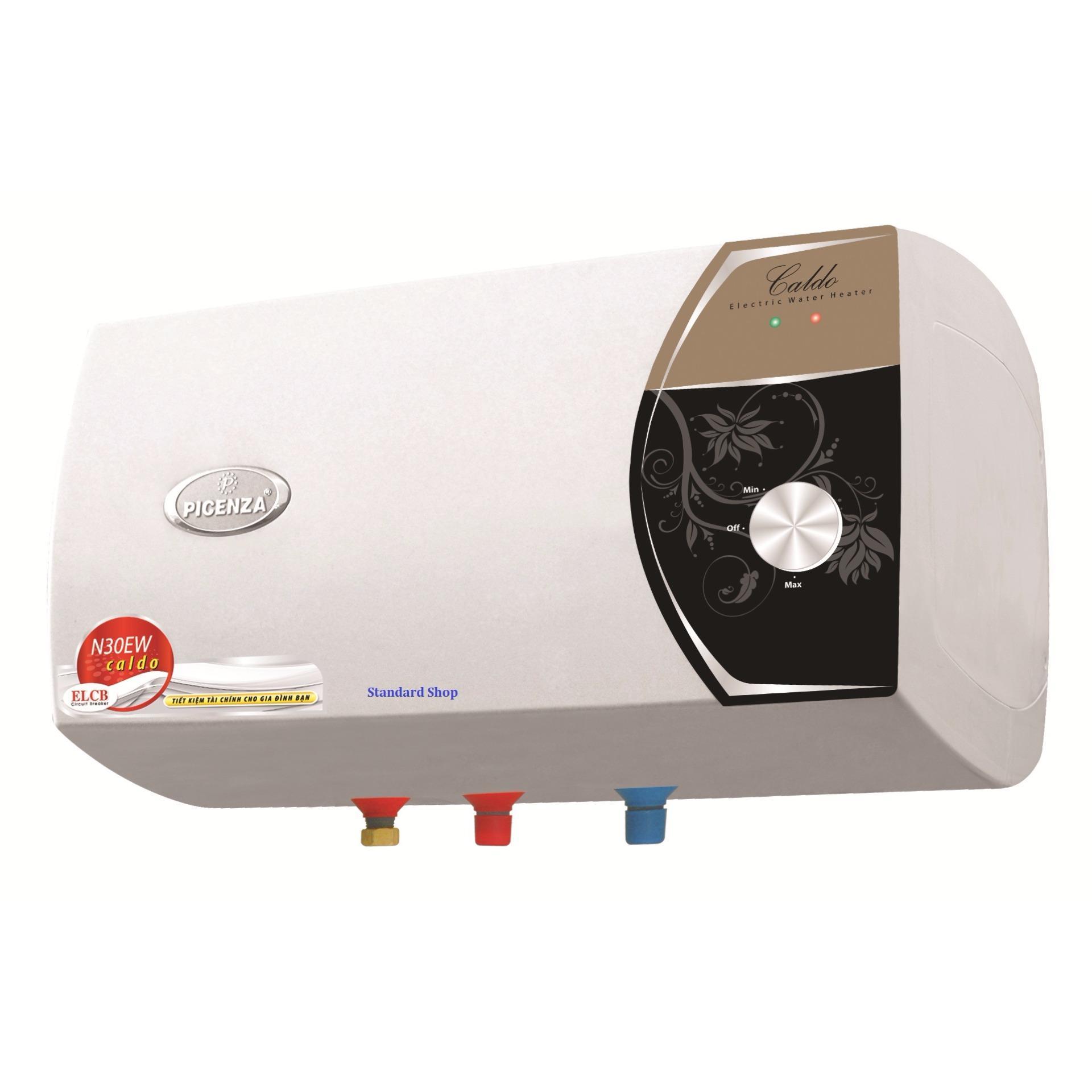Bình nóng lạnh Picenza bình ngang N30EW -30L