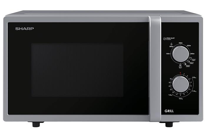 Lò vi sóng cơ có nướng 23L Sharp R-G322VN-S
