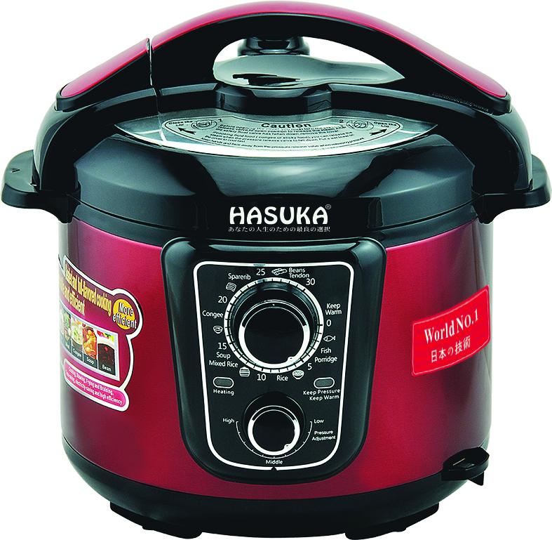 Nồi áp Suất đa năng Hasuka - HSK963 5L
