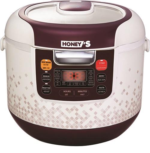 Nồi cơm điện nắp gài Honey's HO-RC902-M18G/ 1.8L
