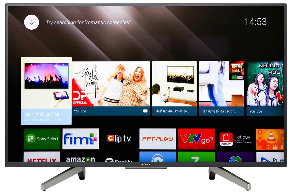 Tivi Sony 43inh Internet KDN- 43W800G