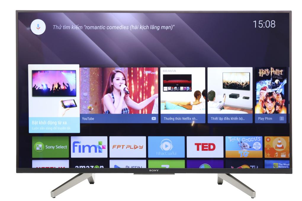 Smart Tivi Sony 4K 49 inch KD-43X8500F ( Mẫu 2019 )