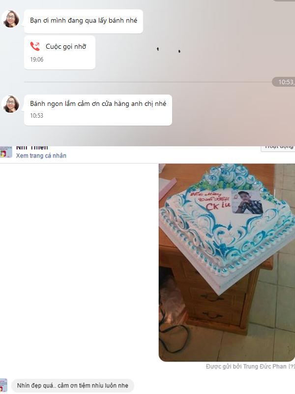 feedback khách hàng bánh kem quận 2