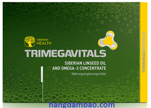 Trimegavitals. All-natural beta-carotene in sea buckthorn-oil