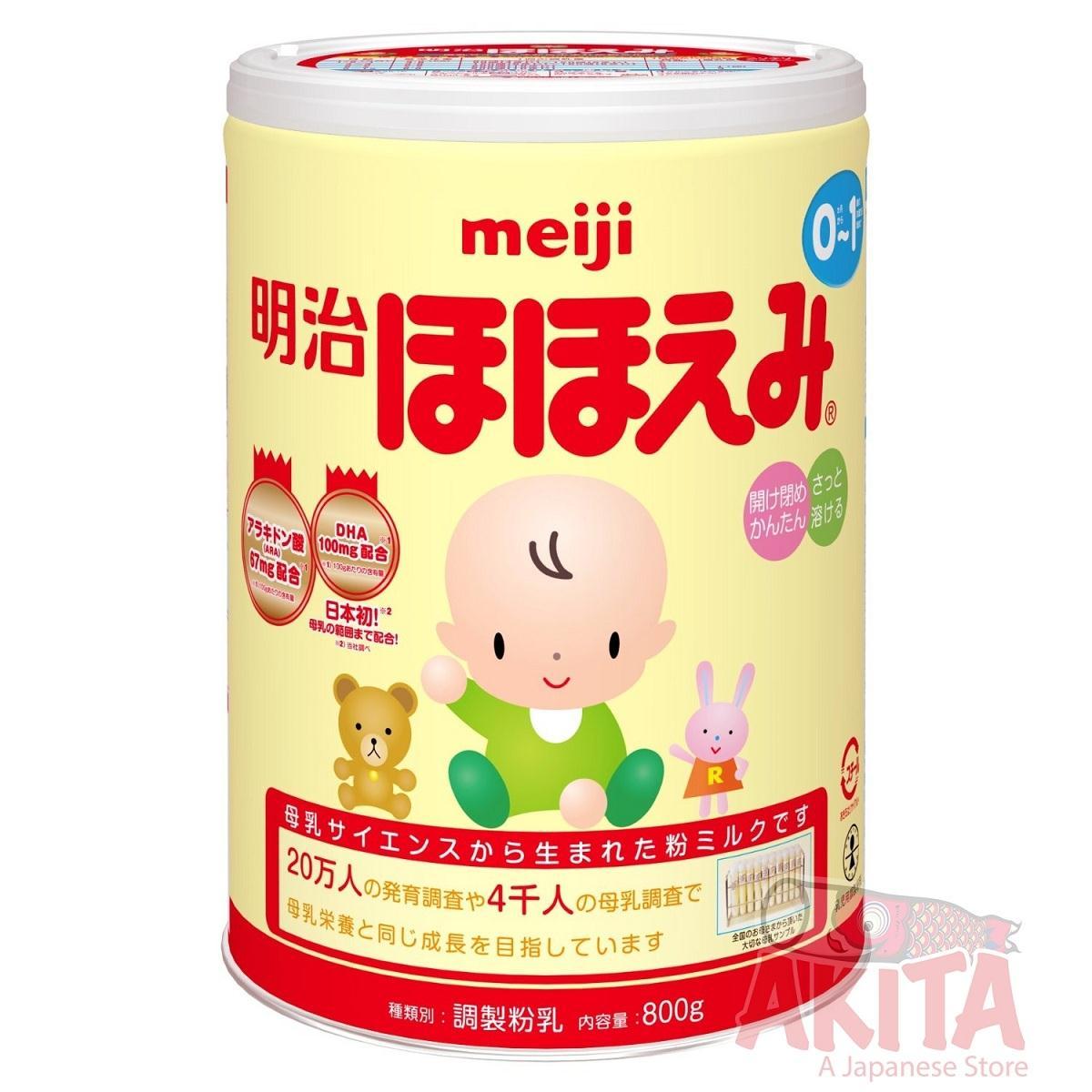 Sữa Meiji 0-1 (800g)