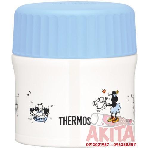 Bình ủ cháo, súp Themos 270ml phiên bản giới hạn (Mickey xanh)