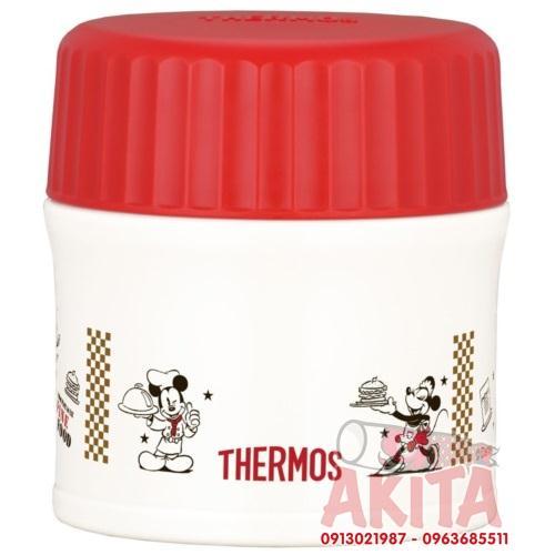 Bình ủ cháo, súp Themos 270ml phiên bản giới hạn (Mickey đỏ)