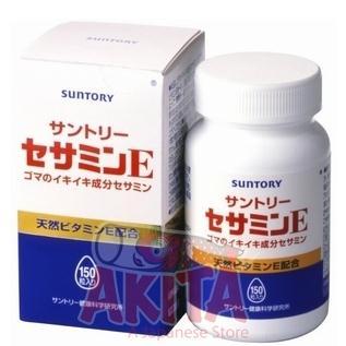 Thuốc tinh chất vừng + Vitamin E Suntory