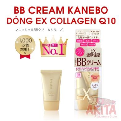 BB CREAM KANEBO - EX COLLAGEN Q10