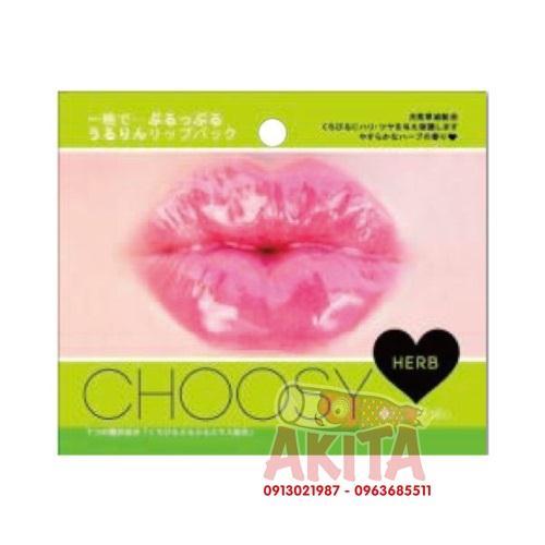 Mặt nạ dưỡng hồng môi và nhũ hoa Chossy (mùi thảo dược)