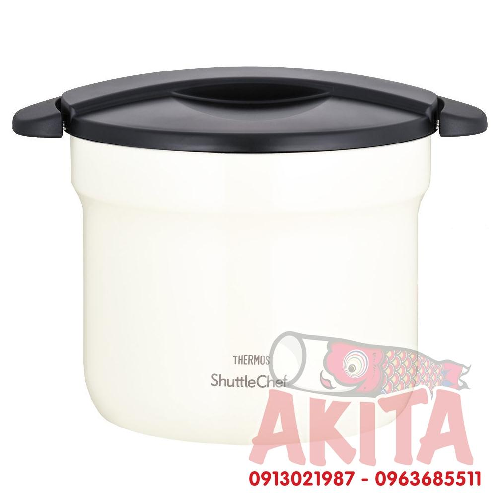 Nồi ủ THERMOS Shuttle Chef 4,3L (Trắng)