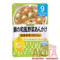 CHÁO WAKODO 9th+ (vị soup Thịt Heo, Miến & Rau Củ)