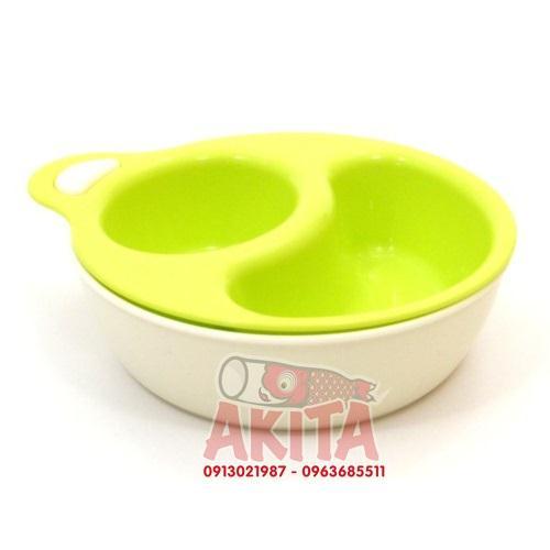 Bát ăn cho bé Inomata (màu xanh)