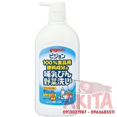 Nước rửa bình và rau củ PIGEON- 800ml