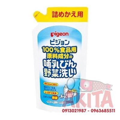 Nước rửa bình và rau củ PIGEON - 700ml