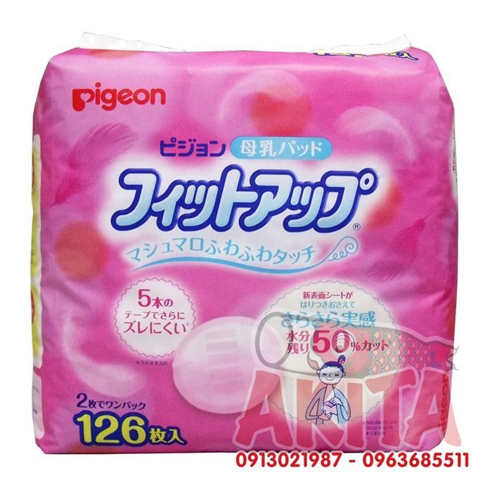 Lót thấm sữa Pigeon 126 miếng