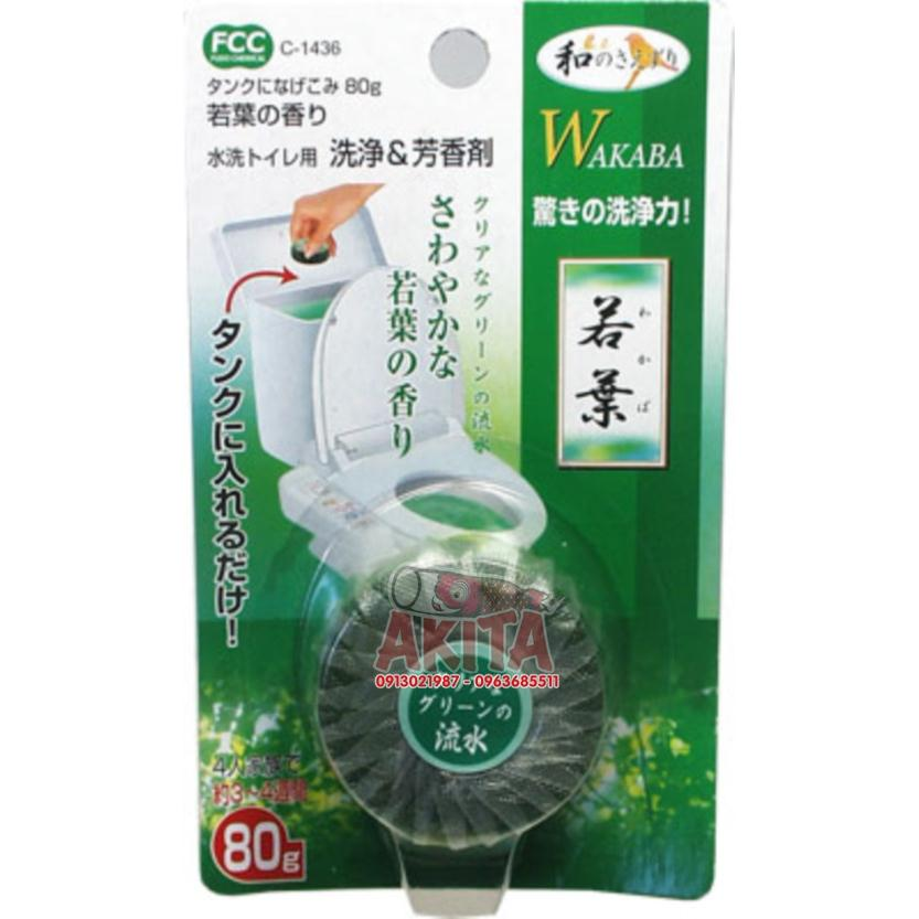 Viên thả bồn cầu Wakaba Khử mùi, diệt khuẩn