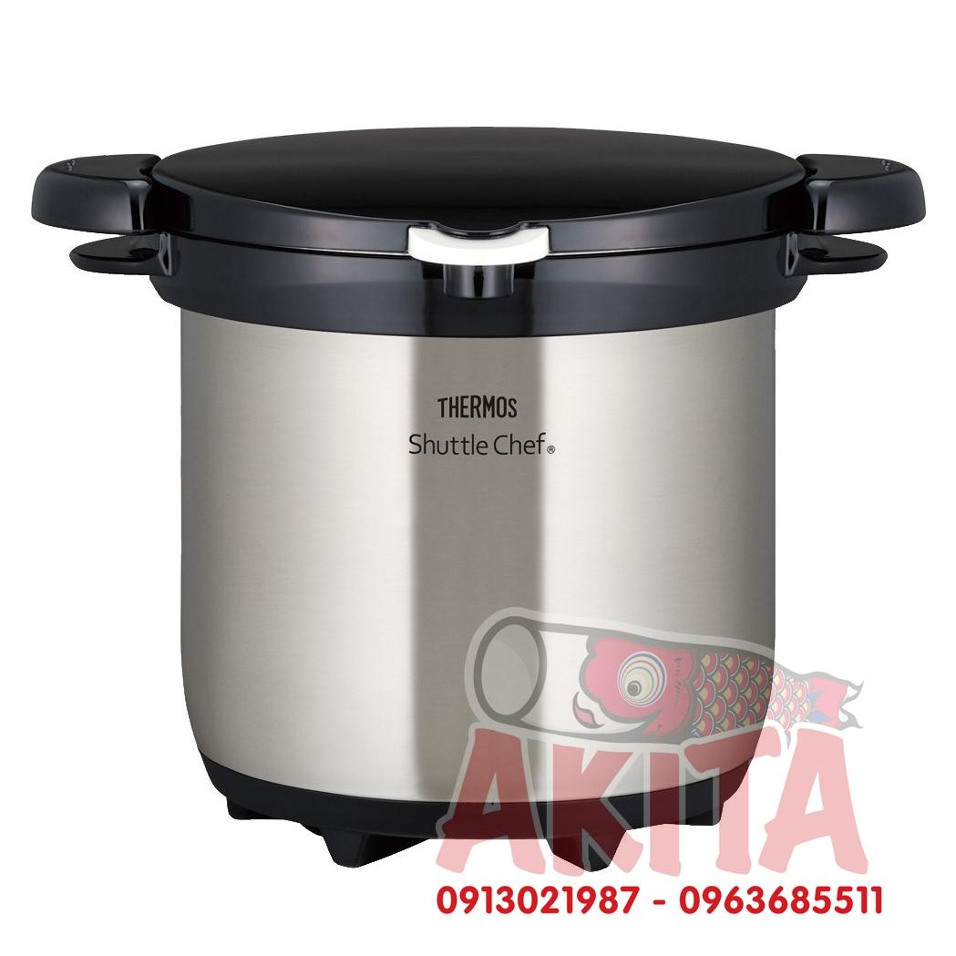 Nồi ủ THERMOS Shuttle Chef 4,5L (Bạc)