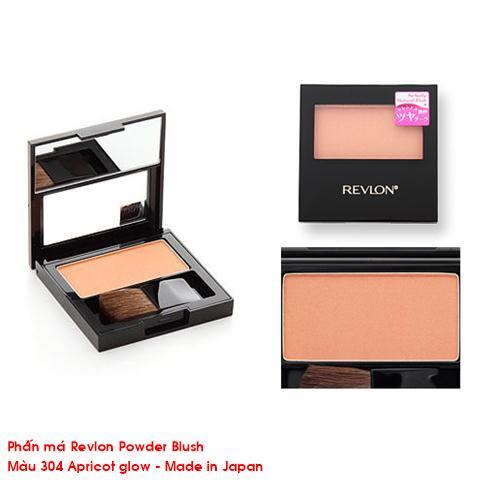 Phấn má Revlon Powder Blush Matte (màu 304 Apricot glow)
