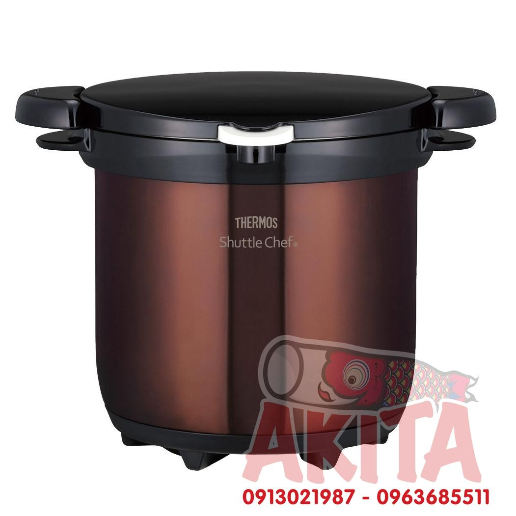 Nồi ủ THERMOS Shuttle Chef 4,5L (Nâu sẫm)