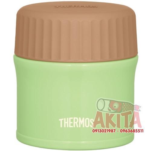 Bình ủ cháo, súp Themos 270ml (màu xanh lá mạ non)