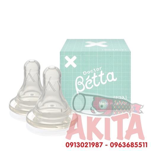 Núm ti đầu chữ X (bình Doctor Betta)