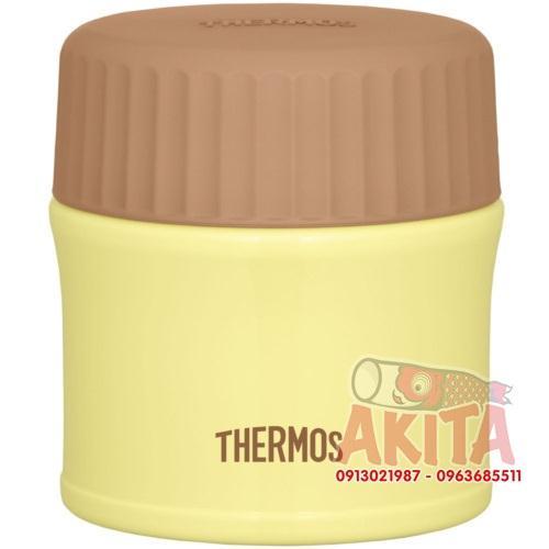 Bình ủ cháo, súp Themos 270ml (màu vàng chanh non)