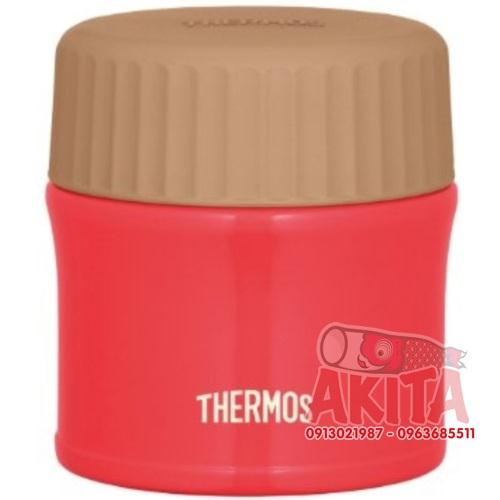 Bình ủ cháo, súp Themos 270ml (màu đỏ ớt nhạt)