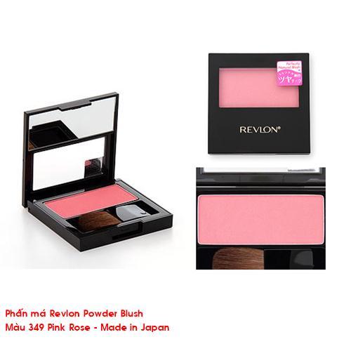 Phấn má Revlon Powder Blush Matte (màu 349 Pinky Rose)