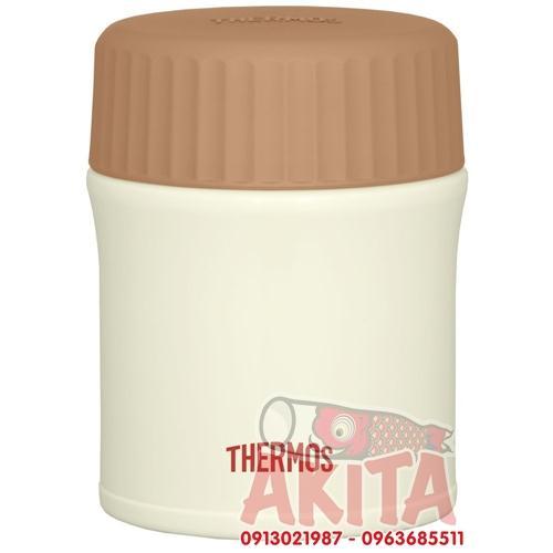 Bình ủ cháo, súp Themos 380ml JBI-382 (màu trắng)