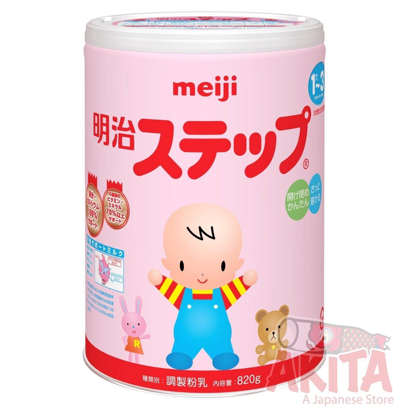 Sữa Meiji 1-3 (800g)
