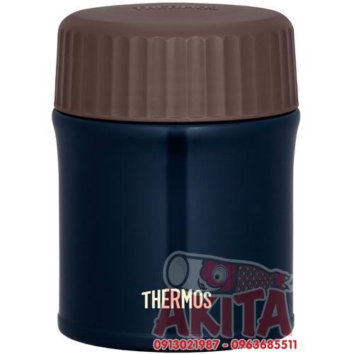 Bình ủ cháo, súp Themos 380ml JBI-382 (màu tím than)