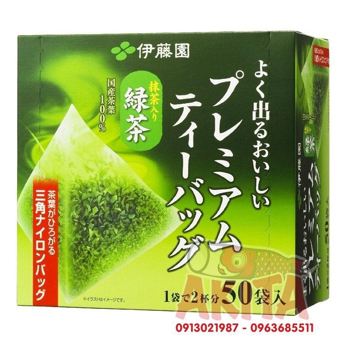Trà xanh nguyên chất ITOEN 50 túi lọc