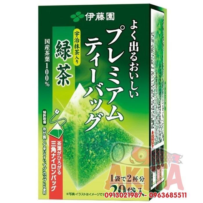 Trà xanh nguyên chất ITOEN 20 túi lọc