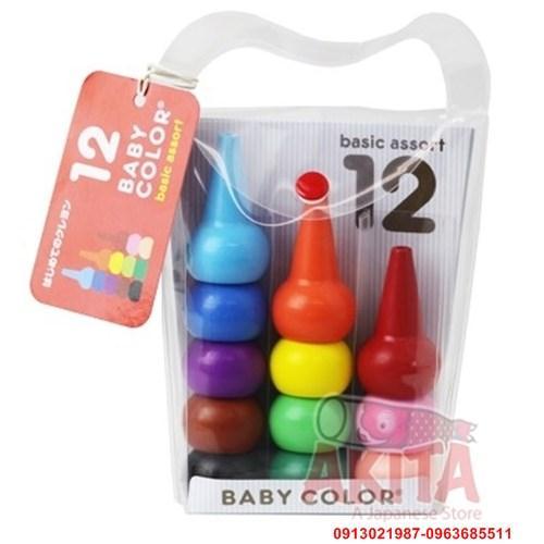Bút sáp màu thông minh Baby Color