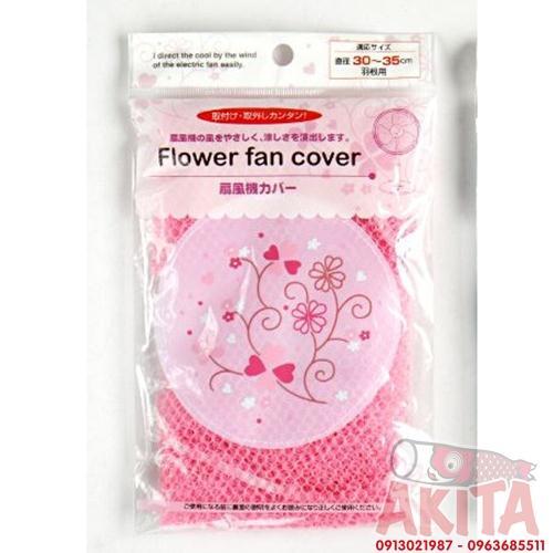 Lưới bọc quạt an toàn cho bé (màu hồng)